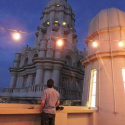 Desde la terraza del edificio Barolo se puede ver mucho de la ciudad. En los años '30 era el edificio más alto de Buenos Aires.