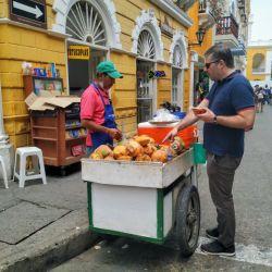 Los puestos de frutas son un clásico de Cartagena.