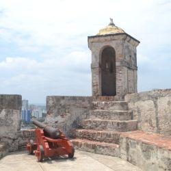 Interior del Castillo San Felipe de Barajas.