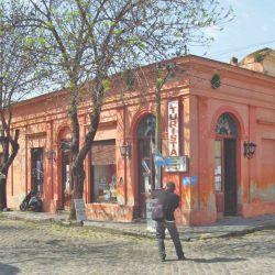 Un viejo almacén en Chacomús, postal habitual de esta ciudad.