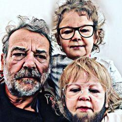 Pedro Alfonso y sus hijos