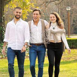 """Junto a sus hijos, Gianola se defiende: """"Confían en el hombre que soy"""""""