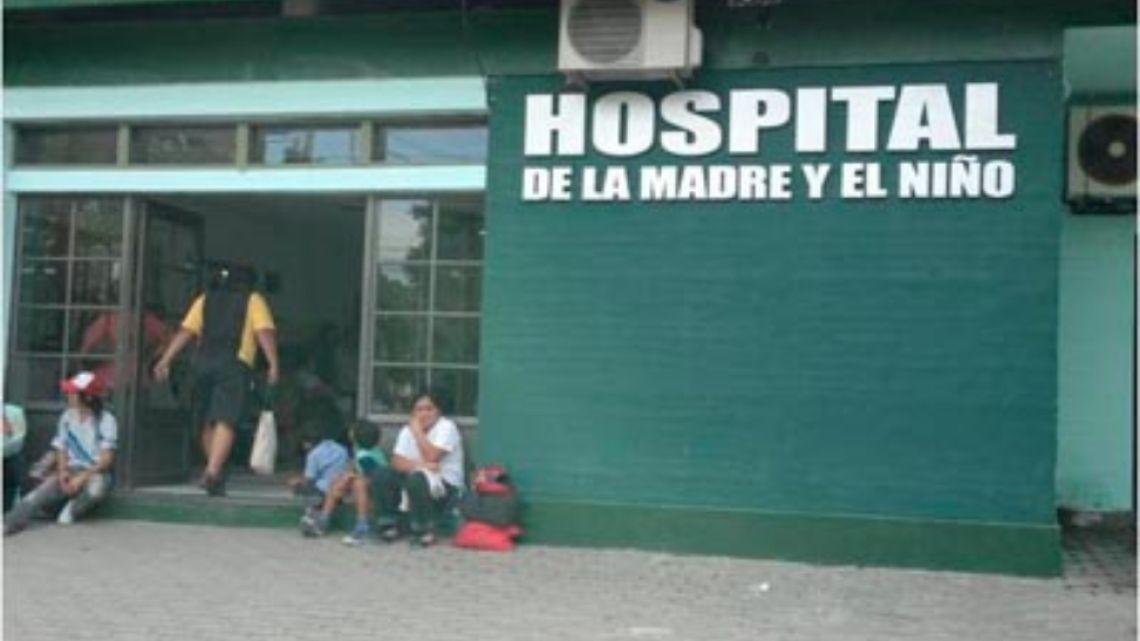 The victim was taken to Hospital de la Madre y el Niño in Formosa.