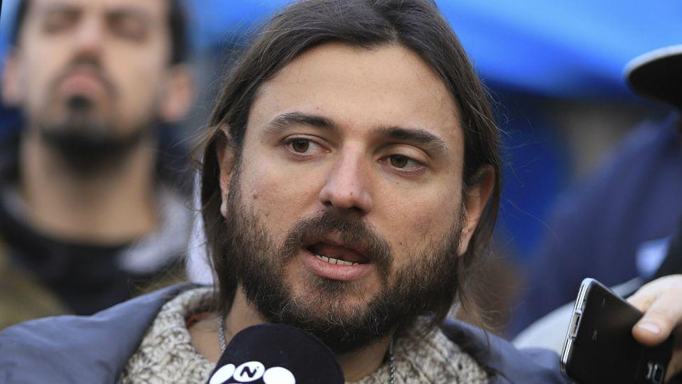 Grabois, dirigente social.