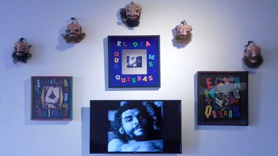 Cadáveres exquisitos. Juan, Eva, Ernesto, América. Muestra colectiva en ArtexArte - Fundación Alfonso y Luz Castillo.