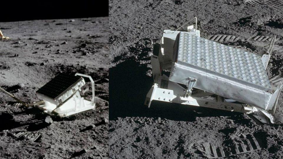Pruebas de la llegada del hombre a la Luna.