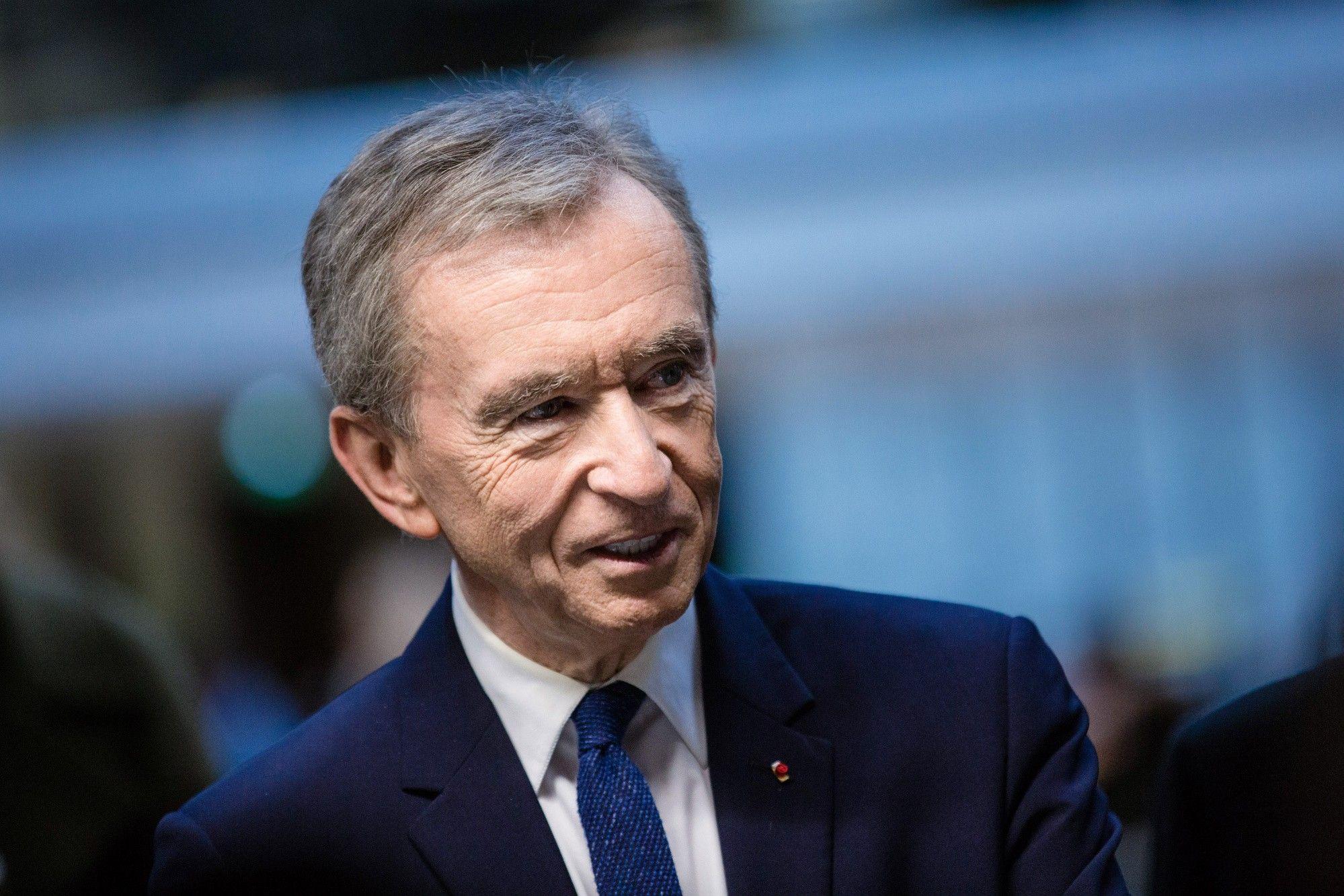 LVMH Moet Hennessy Louis Vuitton SE Chief Executive Officer Bernard Arnault Inaugurates LVMH Start-up Accelerator