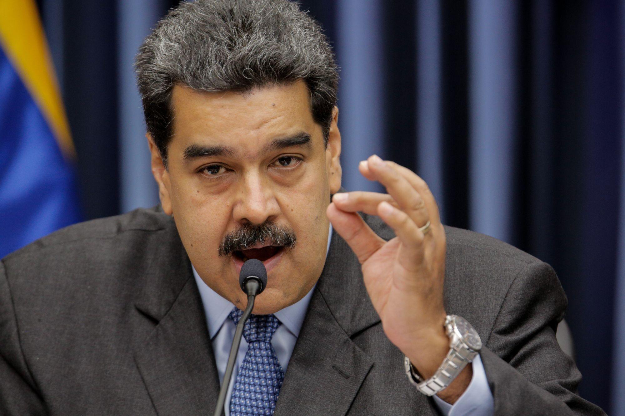 President Maduro Holds Press Conference After Salt Bae Steakhouse Backlash