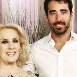 Mirtha Legrand y Nacho Viale