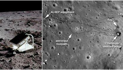 Algunas de las pruebas irrefutables de la llegada del hombre a la Luna.