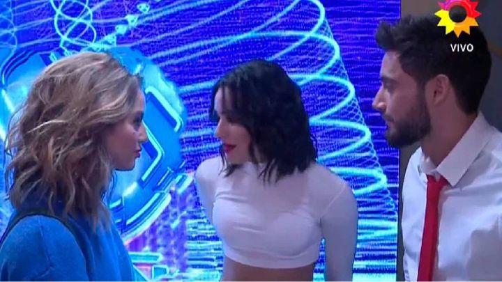 Flor Vigna le hizo un reclamo a Flor Jazmín, la bailarina de Nico Occhiato