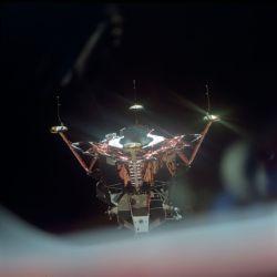 El módulo lunar, una interesante pieza de ingeniería de hace 50 años.