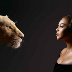 Beyoncé en la piel de Nala