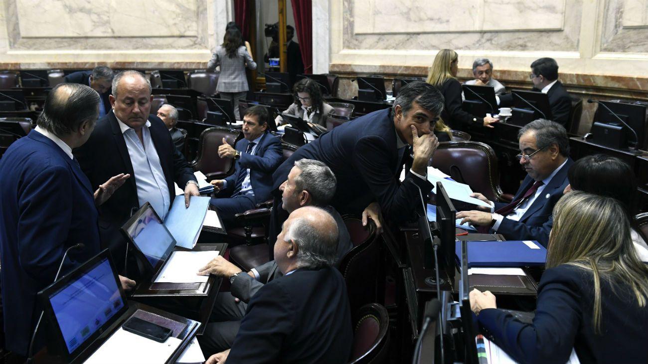 Foto archivo. Senado de la Nación.