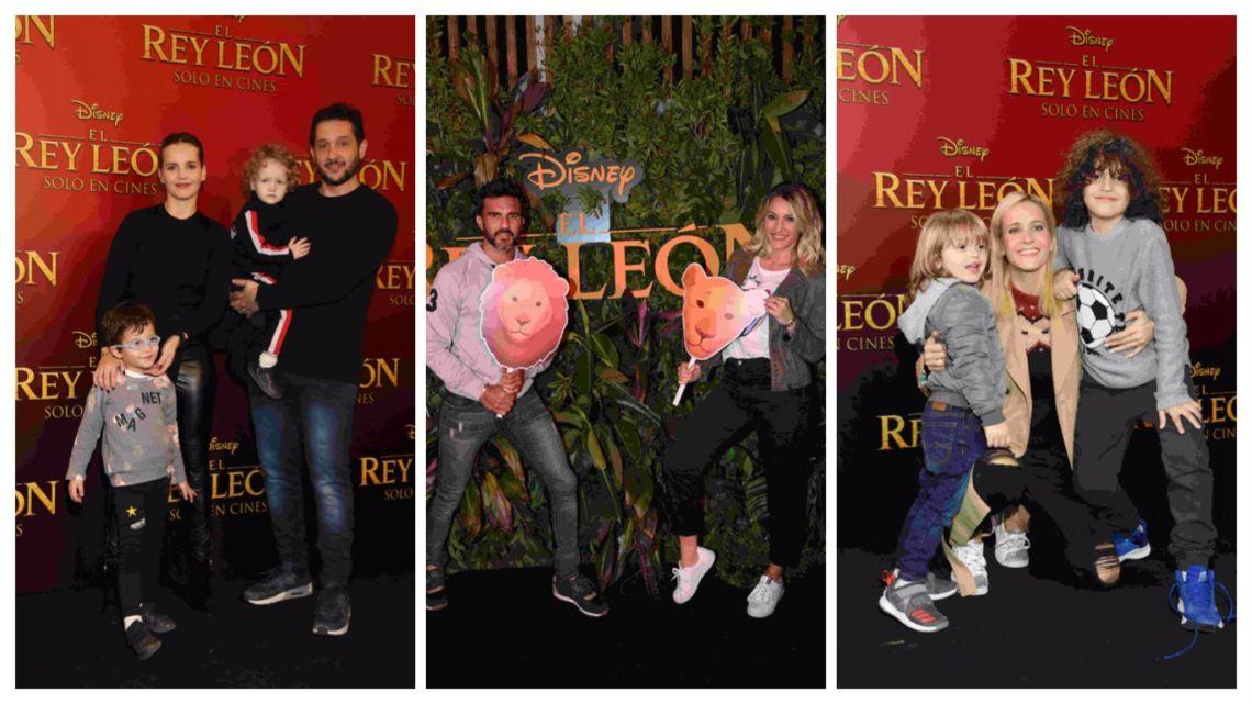 """Desfile de celebridades en la Avant Premier del """"Rey León"""""""