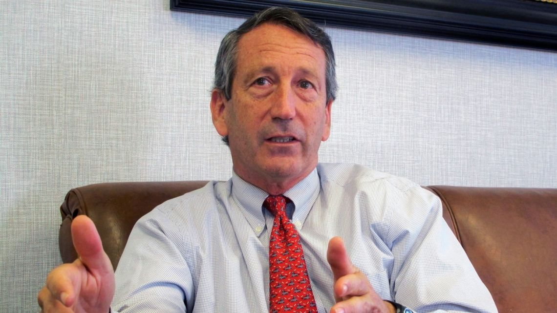 US Rep. Mark Sanford, R-S.C., discusses his first months back in Congress during an interview in Mount Pleasant, S.C. Sanford in 2013.