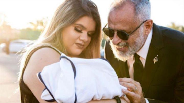 El emotivo mensaje de Morena Rial a Jorge Rial