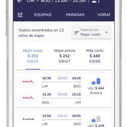 Viajala acaba de lanzar un filtro que facilita el proceso de búsqueda y comparación de precios de vuelos.