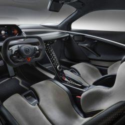 El Lotus Evija comenzará a fabricarse en 2020, en una serie limitada de 130 unidades.