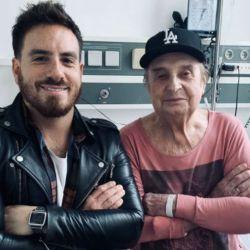 Federico junto a Santiago Bal