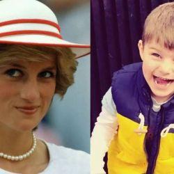 """Un nió de 4 años asegura que en su """"otra vida"""" fue la princesa Diana."""