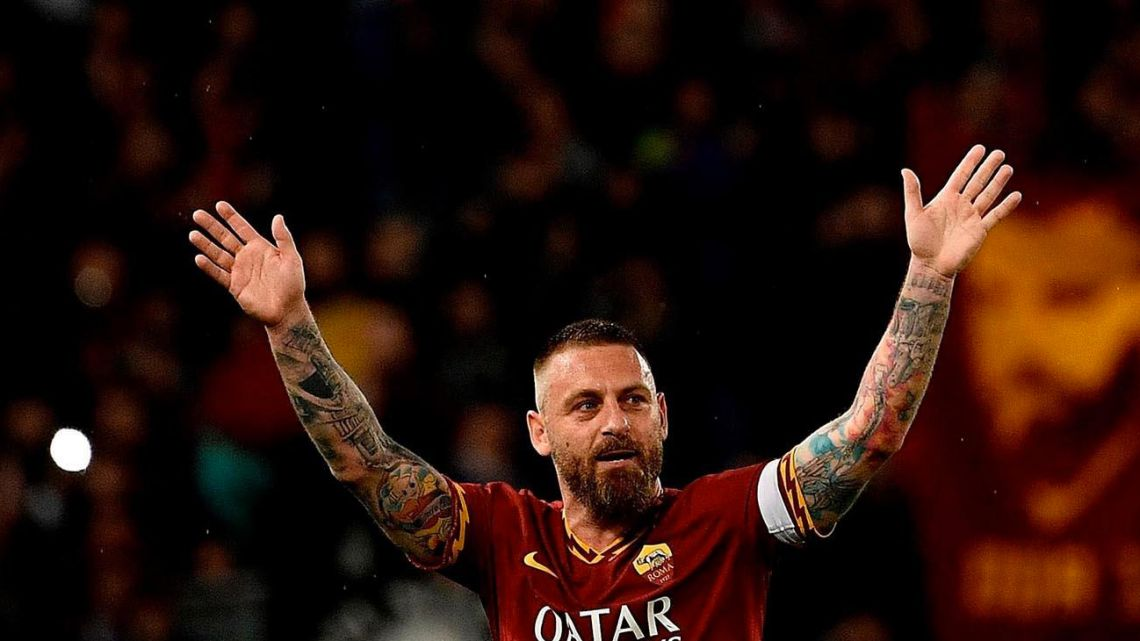 Danielle De Rossi, who is reportedly on his way to Boca Juniors.
