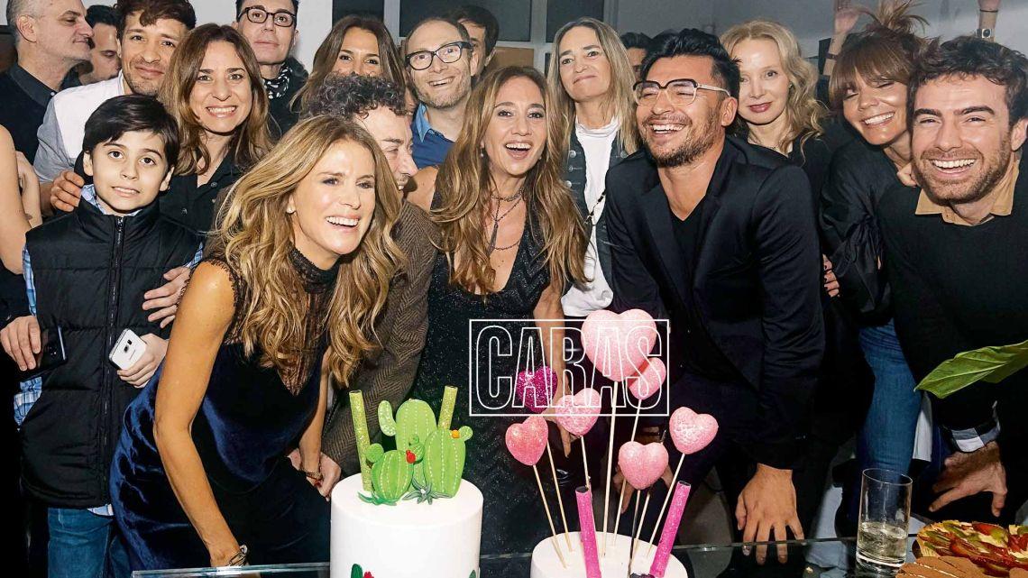 La excéntrica fiesta de cumpleaños de Falvia Palmiero