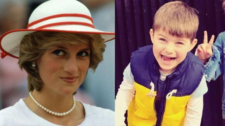 Lady Di podría haber reencarnado en un niño de cuatro años