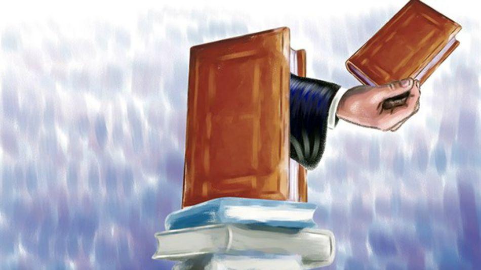 Ilustración con la que había sido presentada la columna de la abogada peruana.