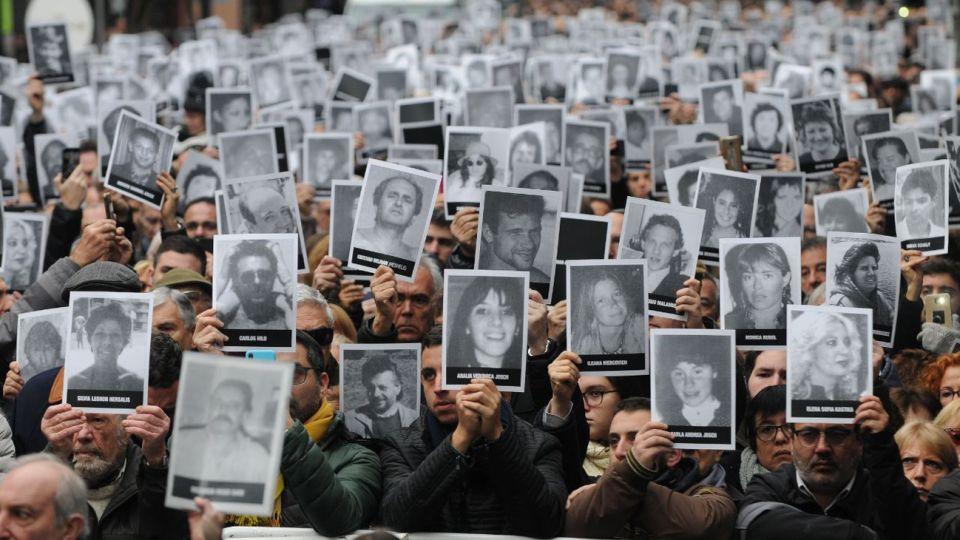 Homenaje por el 25° aniversario del atentado a la AMIA