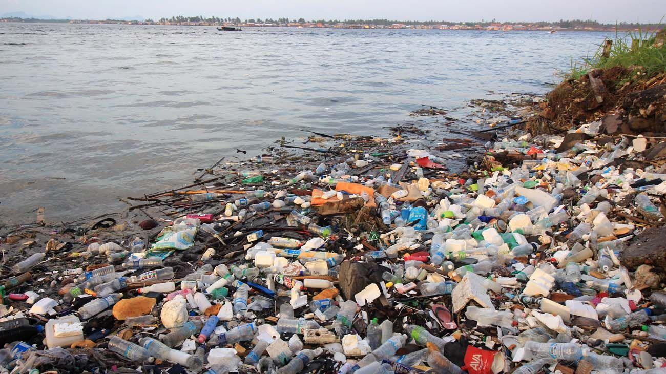 Eliminar los plásticos desechables no acabaría con la contaminación en los océanos