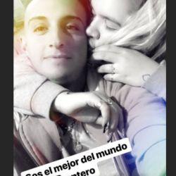 Morena Rial muy mimosa con Enrique