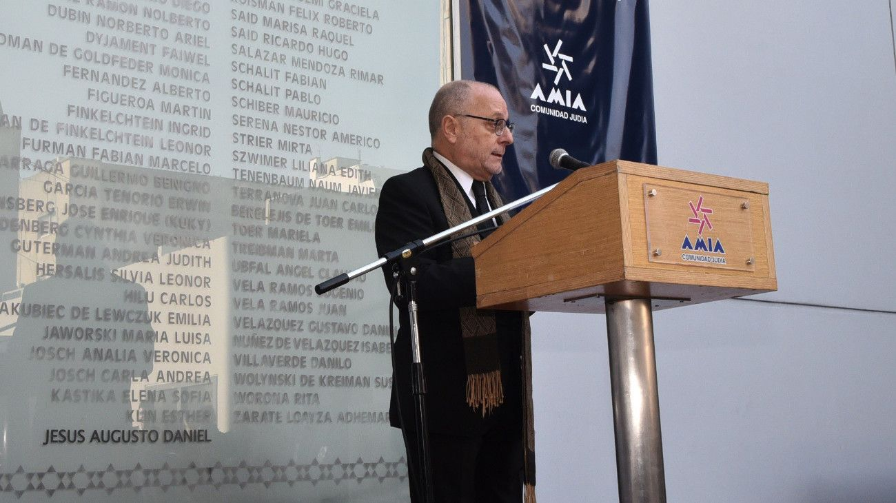 El canciller, Jorge Faurie.