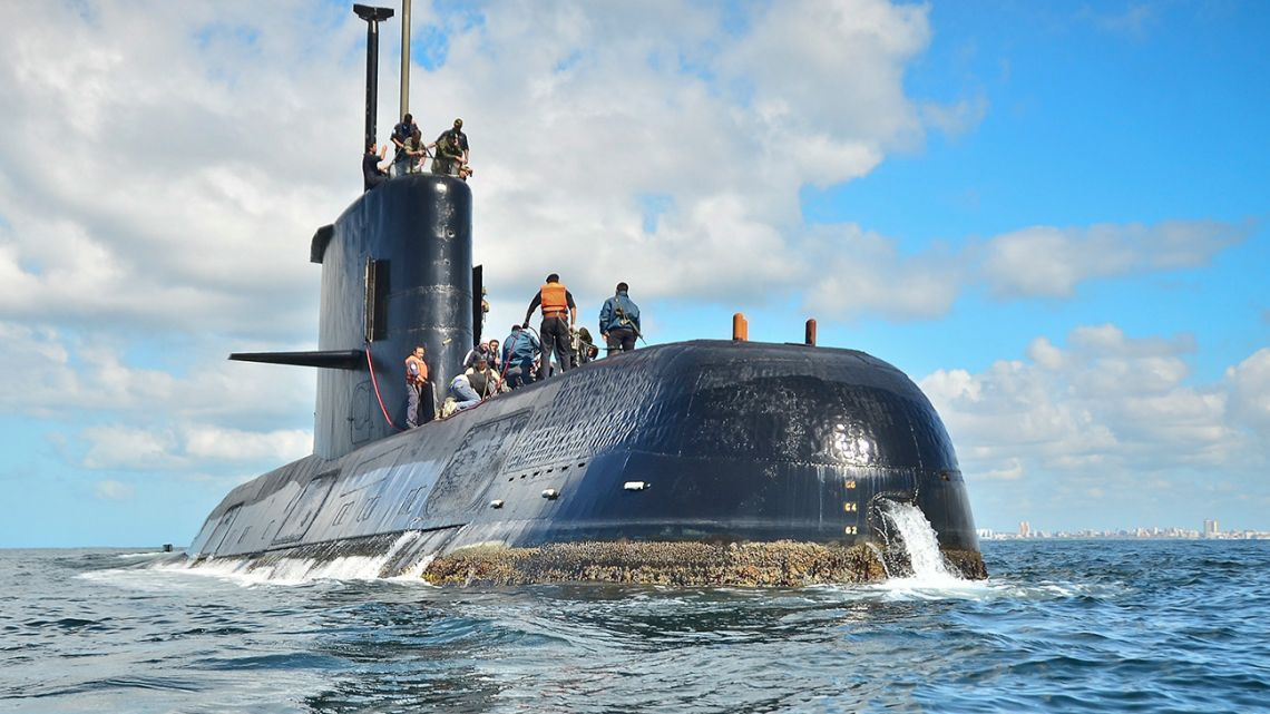 A congressional commission determined on Thursday, July 18, 2019, that the sinking of the ARA San Juan submarine was not caused by foreign attack or an accident, and pointed directly at the Navy high command and budget shortfalls that only allowed for minimal maintenance of the vessel as the cause of the sinking.