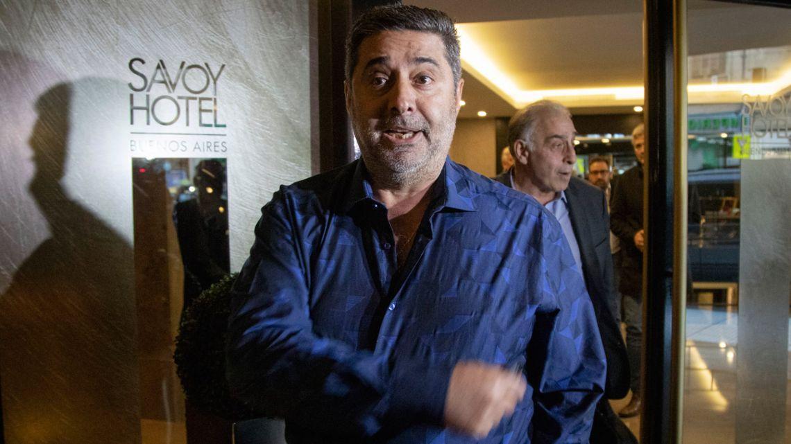 Boca Juniors President Daniel Angelici.