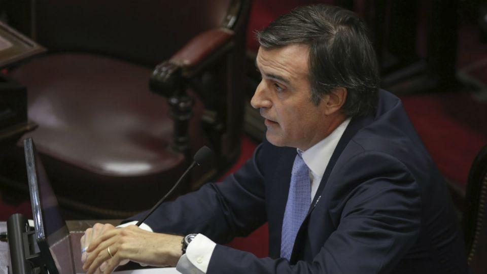 El senador de Cambiemos, Esteban Bullrich.