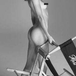 Kendal Jenner posó totalmente desnuda