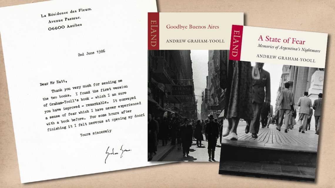 Some of Andrew Graham-Yooll' books.