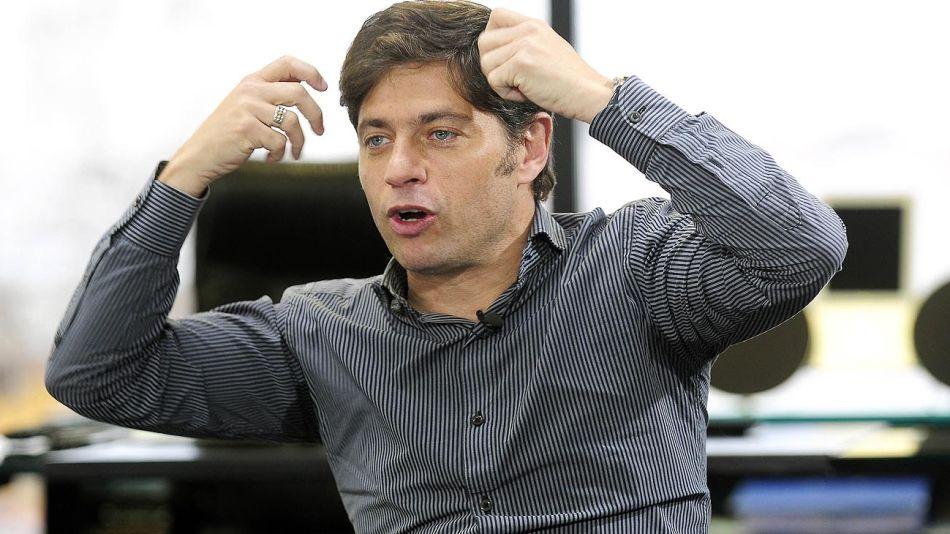 Axel Kicillof, en el reportaje de Jorge Fontevecchia en Diario PERFIL.