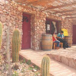 Bodega La Puerta, uno de los principales accesos al vino torrontés.