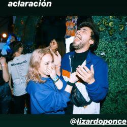 Ángela Torres se besó con Lizardo Ponce