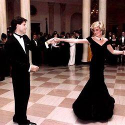 John Travolta y su inolvidable noche con Lady Di