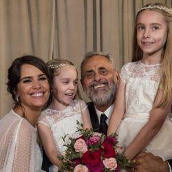 Jorge Rial sorprendió con un tierno mensaje a la hija mayor de Romina Pereiro