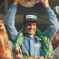Primera victoria de Carlos Reutemann en la F1. Hoy su sobrino nieto Ian sueña con seguir sus pasos.