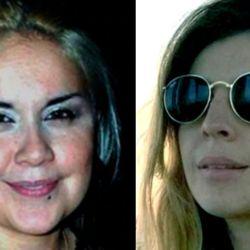 Vero Ojeda y Dalma Maradona