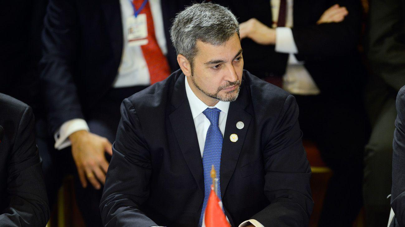 Mario Abdo Benitez, presidente de Paraguay.