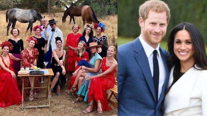 El lujoso cumpleaños flamenco del que el príncipe Harry se quedó afuera