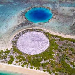 Ubicadas en la región de Micronesia, en el océano Pacífico, las Islas Marshall son el claro ejemplo de la capacidad destructiva del hombre.