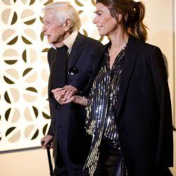 Juliana Awada homenajeó a uno de los artistas plásticos más importantes de la Argentina