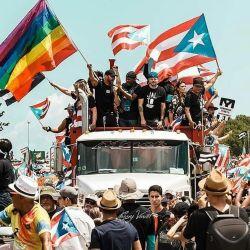 Ricky Martin encabezó una revolución ante el gobernador de Puerto Rico